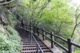 Senga_Falls_092_10172016 - Mom walking back up the steps from the Senga Falls up to the village