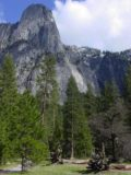 Sentinel_Falls_004_05102003 - This photo of Sentinel Rock and Sentinel Falls was taken in early May 2003