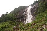 Setesdal_052_06192019 - Broad look up at the base of Reiårsfossen during my visit in June 2019