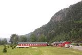 Setesdal_094_06192019 - Looking back at the main buildings of the Reiårsfossen Camping during my visit in June 2019