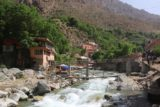 Setti_Fatma_022_05162015 - Looking upstream at other bridges crossing the Ourika River so clearly there's more than one way of getting to the Setti Fatma Waterfalls