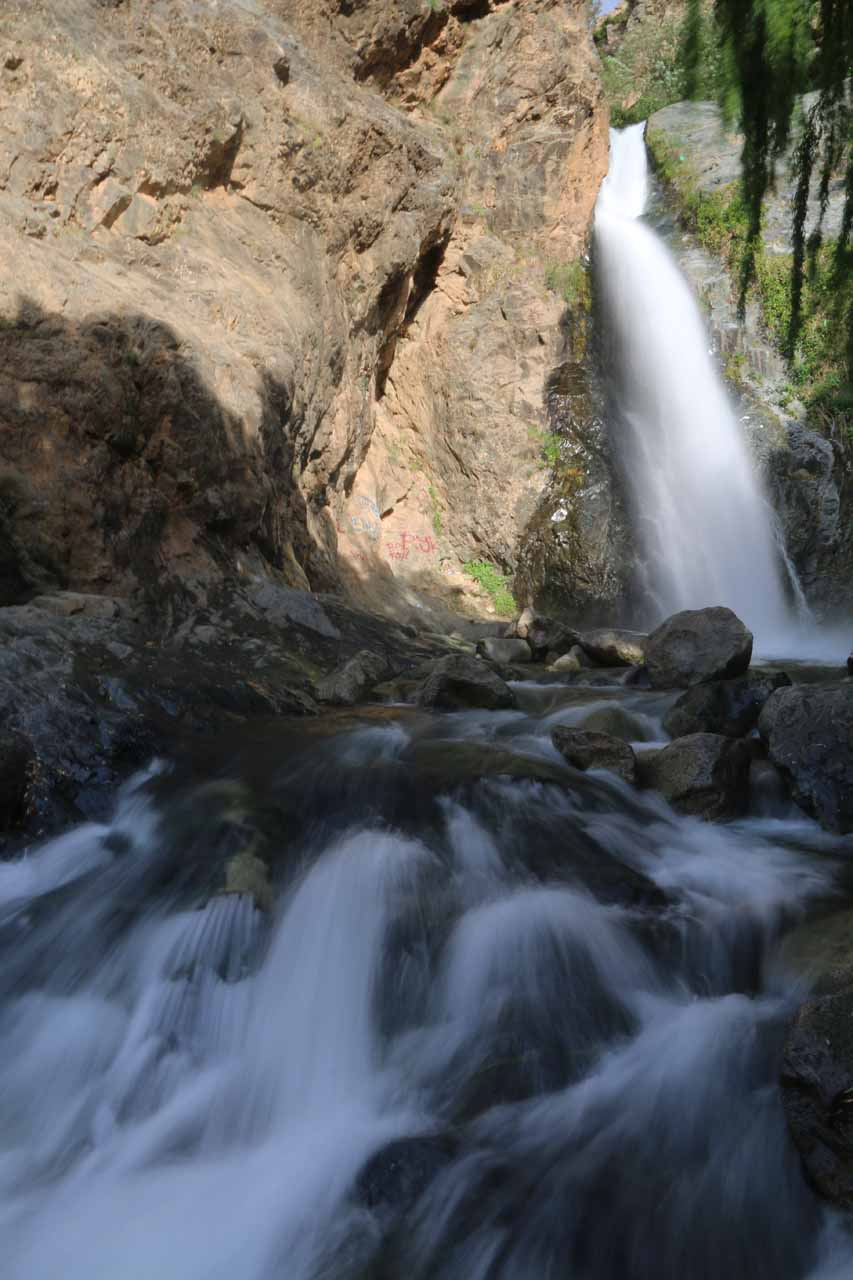 First look at the first Setti Fatma Waterfall