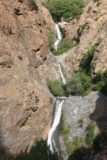 Setti_Fatma_109_05162015 - Looking down at the trio of Setti Fatma Waterfalls from the lookout and refreshment stand at my turnaround point