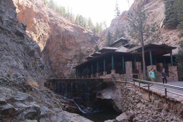Seven_Falls_CO_031_03232017 - Some infrastructure at the foot of the Seven Falls was the Restaurant 1858