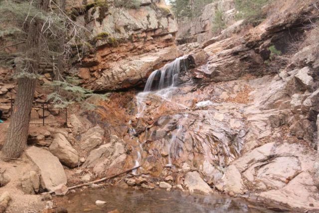 Seven_Falls_CO_100_03232017 - Midnight Falls, which was well upstream of Seven Falls