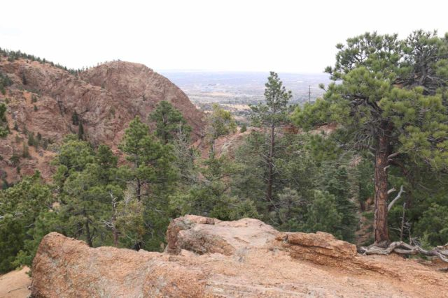 Seven_Falls_CO_132_03232017 - Looking towards Colorado Springs from the Helen Hunt Jackson Inspiration Point