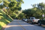 Seven_Falls_SB_17_004_04012017 - Walking along Tunnel Road amongst the many cars parallel parked as they either pursued the Seven Falls or at least the Inspiration Point along the Jesusita Trail