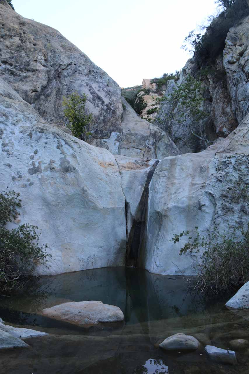 This was the waterfall at the second pool, which was probably the most attractive one of the lot