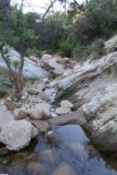 Seven_Falls_SB_17_091_04012017 - Scrambling downstream from the Seven Falls along Mission Creek