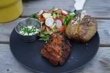 Seydisfjordur_018_08092021 - This was the chicken dish served up by Kaffi Lara El Grillo Bar in Seydisfjordur