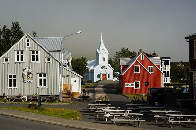 Seydisfjordur_030_08102021 - East of Egilsstaðir was the beautiful town of Seyðisfjörður, which itself featured several waterfalls as well as a charming town center
