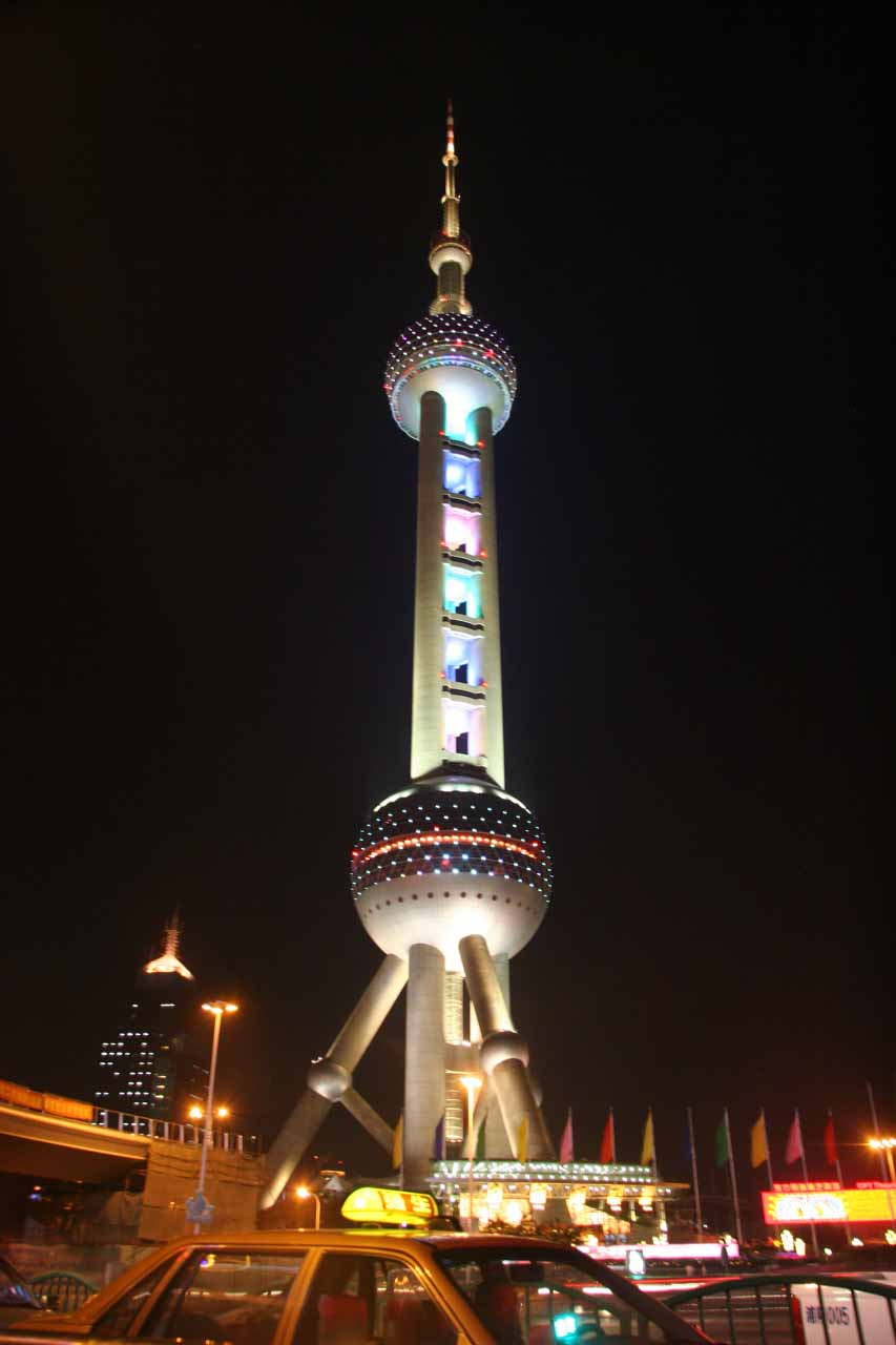 The iconic Pearl Tower in Shanghai