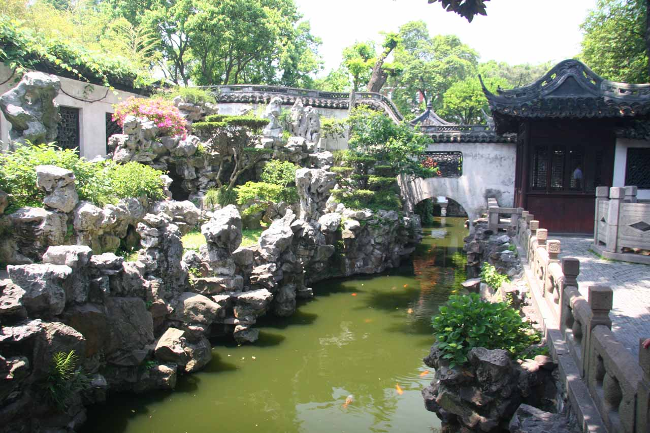 More of the Yu Garden front area