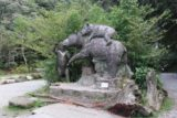 Shanlinhsi_238_10312016 - Some bear statues fronting the bus stop nearest to the Songlong Rock Waterfall