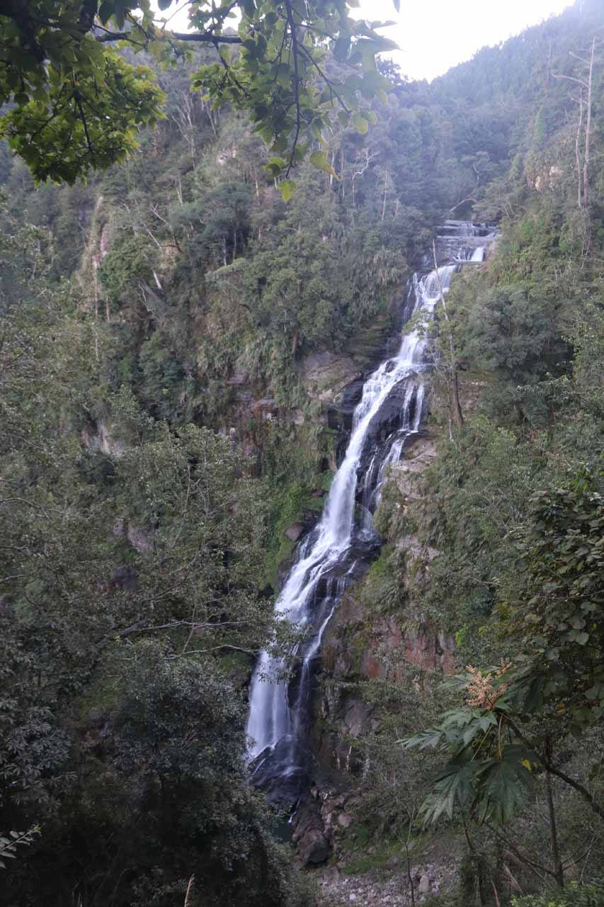 Our first look at the Chinglong Waterfall