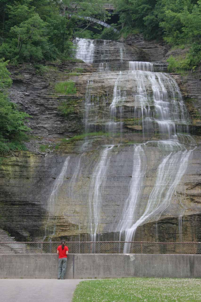 She Qua Ga Falls (also known as Montour Falls)