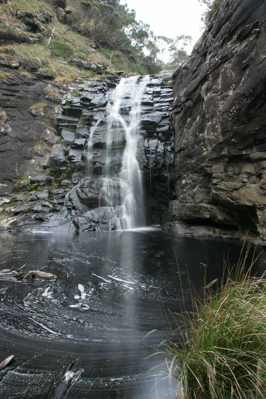 Looking across the calm plunge pool for Sheoak Falls, which seemed very peaceful and idyllic when this picture was taken back in November 2006