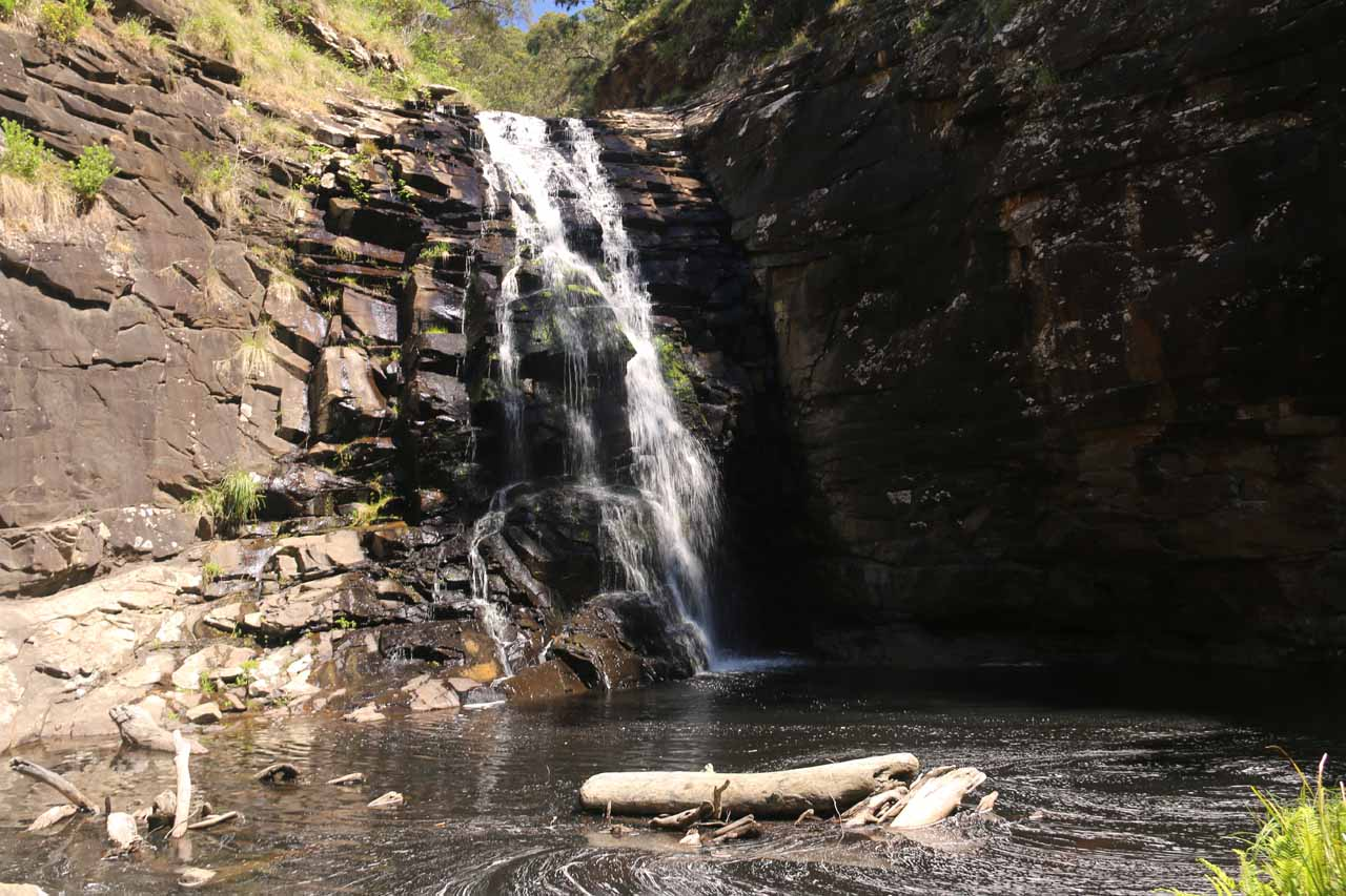 Another angled look at the Sheoak Falls