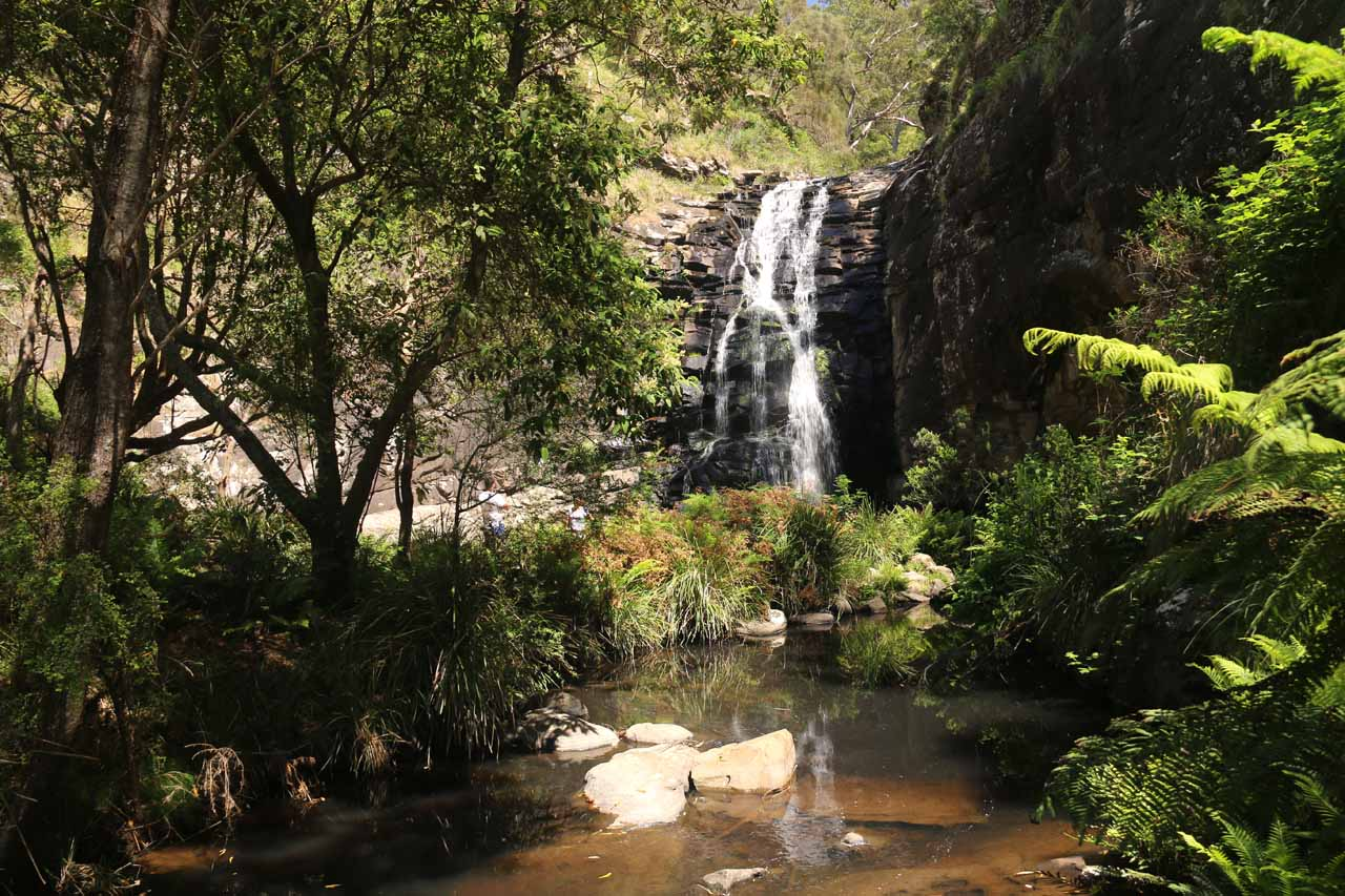 View of Sheoak Falls from further downstream
