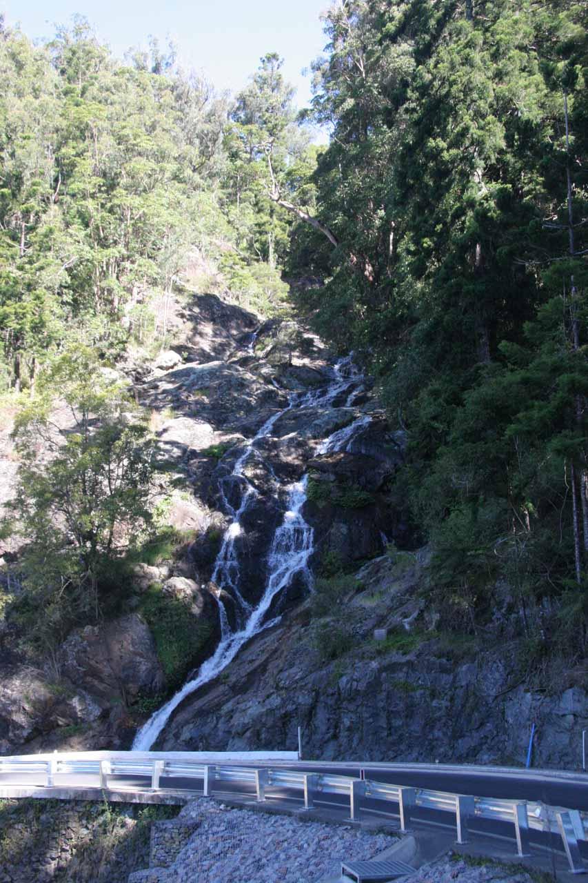 Approaching Sherrard Falls