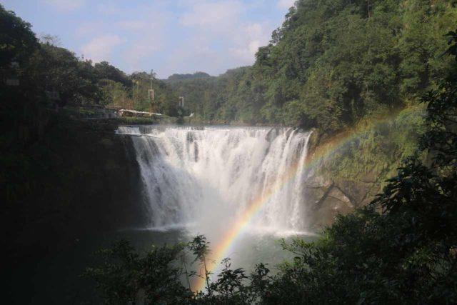 Shifen_Waterfall_111_11042016 - Shifen Waterfall and morning rainbow