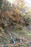 Shirahone_Onsen_030_10192016 - Another segment of the Ryujin Falls percolating between some trees and bush