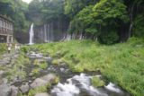 Shiraito_053_05262009 - Looking alongside the stream up towards Shiraito-no-taki revealing some of the extent of how wide the waterfall is