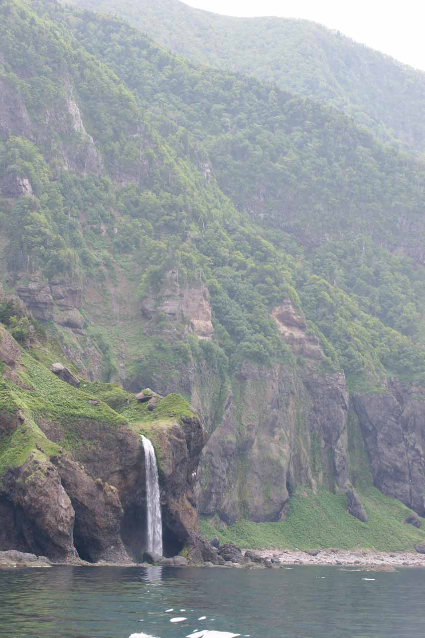 Looking back at the Kashuni Waterfall I think in context