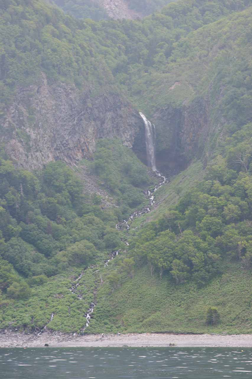 Another one of the many waterfalls seen off the coast of the Shiretoko Peninsula