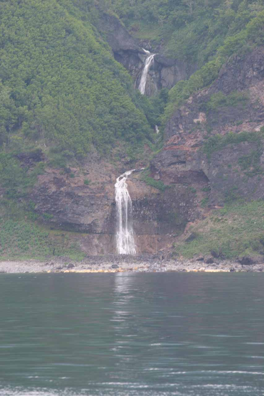 Last look at the Kamuiwakka Waterfall revealing some more upper tiers