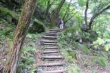 Shoji_Falls_126_10172016 - Another look at Dad on the Shoji Falls Trail on the return hike as we were getting closer to the suspension bridge at the start