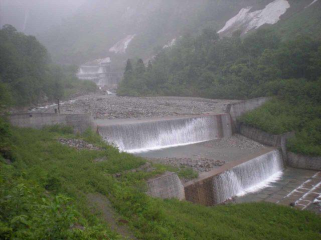 Shomyo_003_jx_05292009 - A look at the man-modifications made just downstream of the Shomyo Waterfall and Hannoki Waterfall
