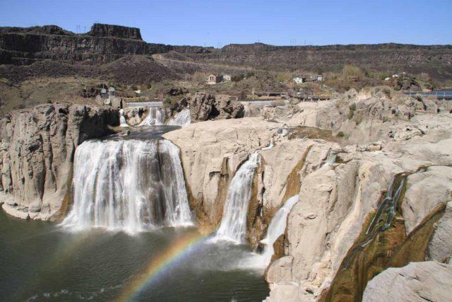 Shoshone_Falls_032_20130424 - Shoshone Falls and double rainbow