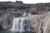 Shoshone_Falls_141_04012021 - The main drop of Shoshone Falls in even post-sunset lighting