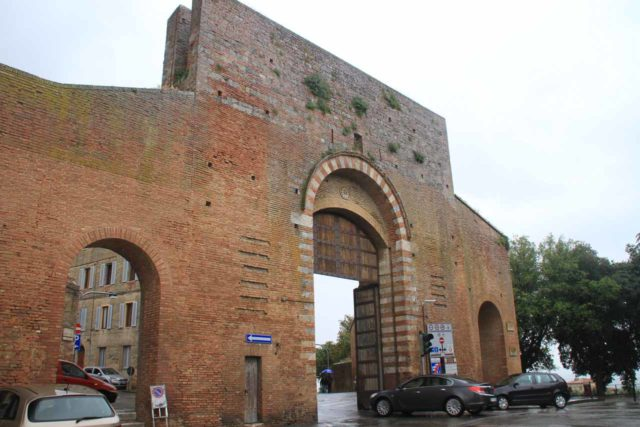 This city wall was one of the ZTL entrances for Siena, Italy. Behind the walls were hidden cameras monitoring who went in legally or illegally. It was also behind the walls that we got to experience the charming parts of the city