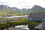 Siglufjordur_142_08142021 - Another look across some ponds as we were about to enter the last of the Herring Era Museum buildings in Siglufjordur