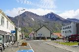 Siglufjordur_236_08142021 - Looking back across some of the other buildings of the main center area of Siglufjordur during our foodie chase