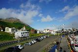 Siglufjordur_263_08142021 - Looking in the direction of the church from our room in the Siglo Hotel