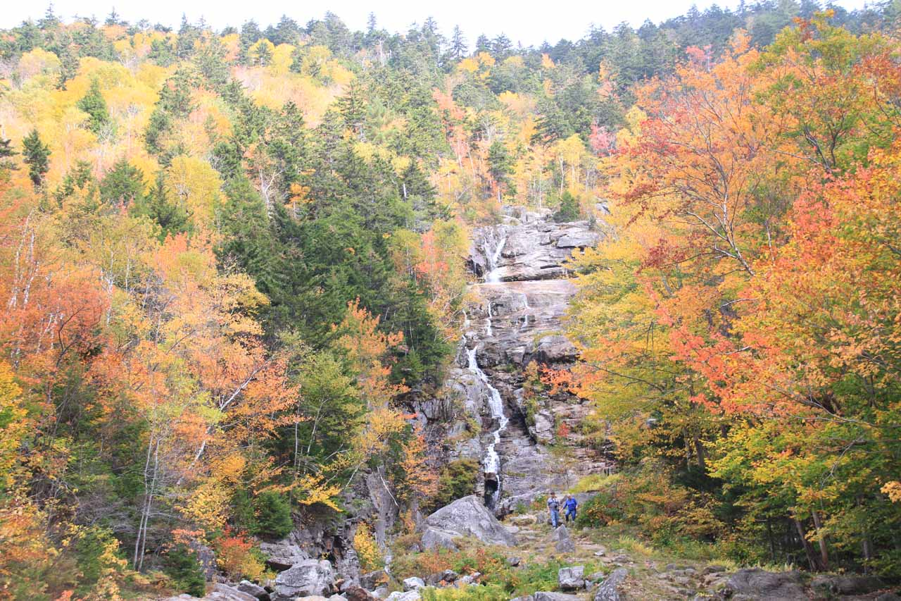 Nearby Ripley Falls was the Silver Cascade, which was one of those waterfalls that was very nice for framing Autumn colors around it in photographs