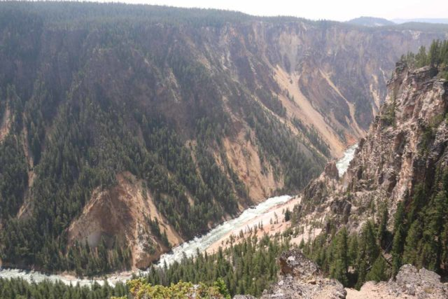Silver_Cord_Cascade_17_023_08102017 - Partial views of the Yellowstone River along the Seven-Mile Hole Trail en route to Silver Cord Cascade