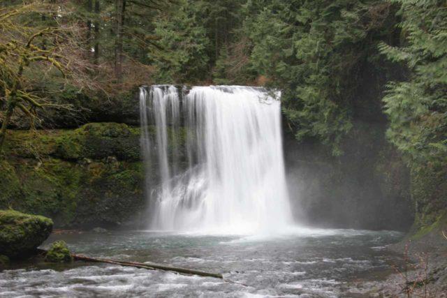 Silver_Falls_075_03312009 - Upper North Falls in Silver Falls State Park