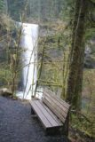 Silver_Falls_099_03312009 - A rest bench with a nice view of the South Falls