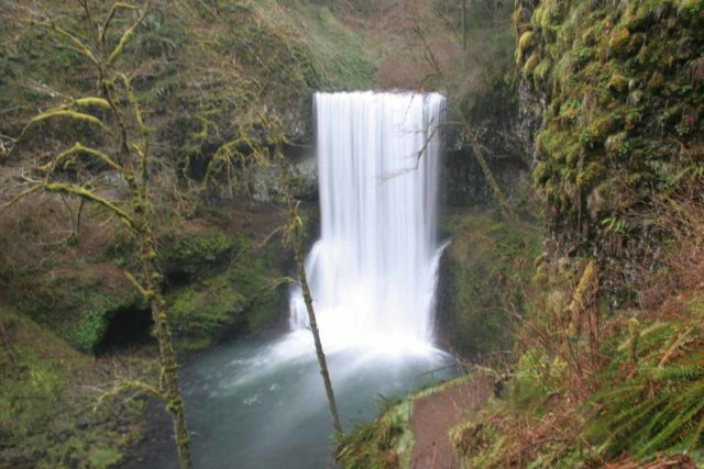 Silver_Falls_118_03312009 - Lower South Falls in Silver Falls State Park