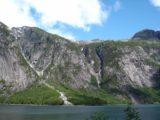 Simadalen_020_jx_06252005 - Looking across Simadalsfjorden towards some thin cascades as we headed towards Simadalen