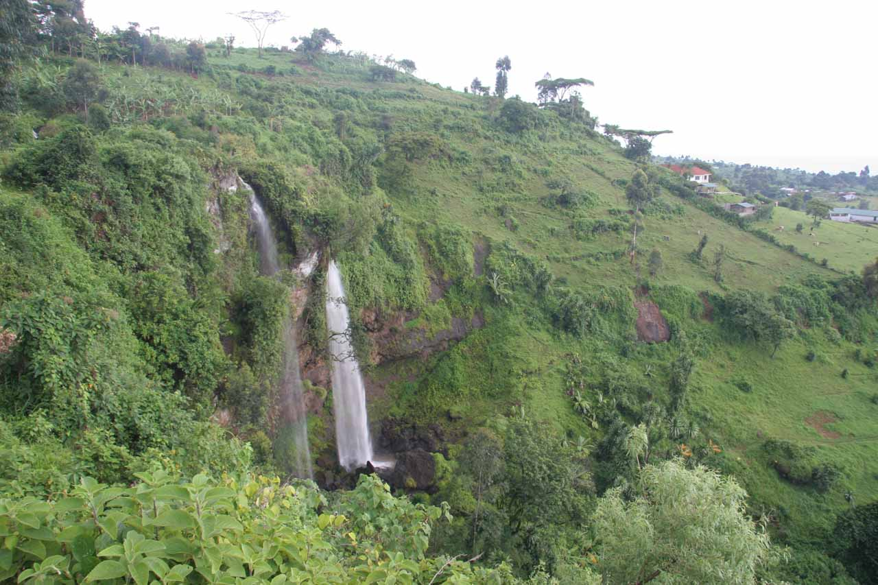 Contextual look at the second Sipi Falls