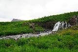 Sjavarfoss_016_08042021 - Looking towards Sjavarfoss with some mountain in the background