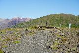 Skaftafell_NP_213_08082021 - Approaching some kind of compass-like pillar at Sjonarsker