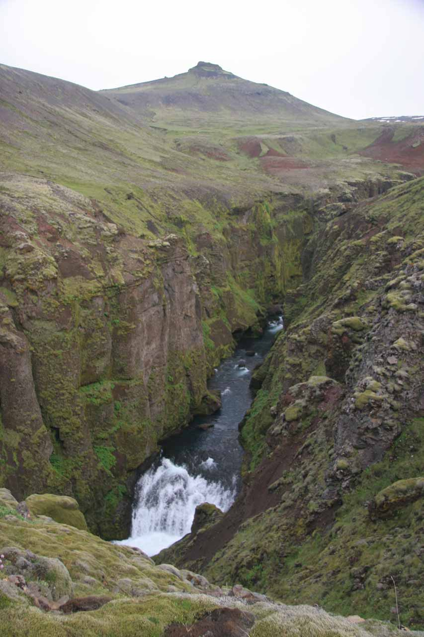 This was what I believe to be Foss #11, which was way down in the gorge