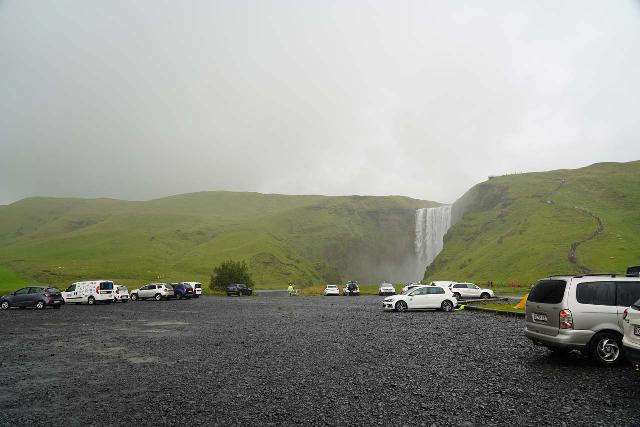 Skogafoss_003_08072021 - On our August 2021 visit to Skógafoss, we actually had to deal with worse weather than the 3 days we had here during our July 2007 trip to Iceland