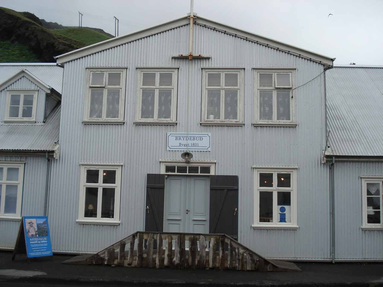 Back in Vík í Myrdal
